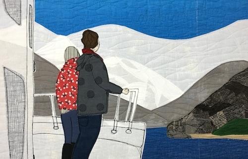 Glacier View - detail