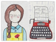 Grow & Typewriter-Red