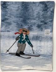 happy on skis