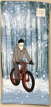 enjoys biking