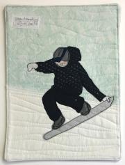 snowboarding is his zen